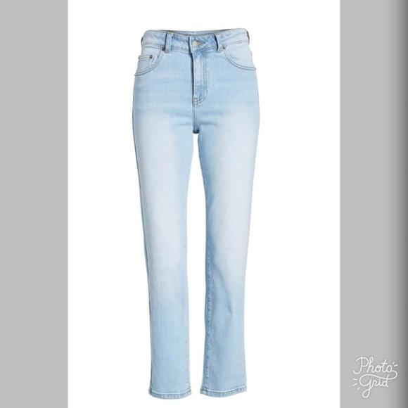 Dr. Denim Denim - Dr Denim High Waisted Crop Straight Leg Jeans